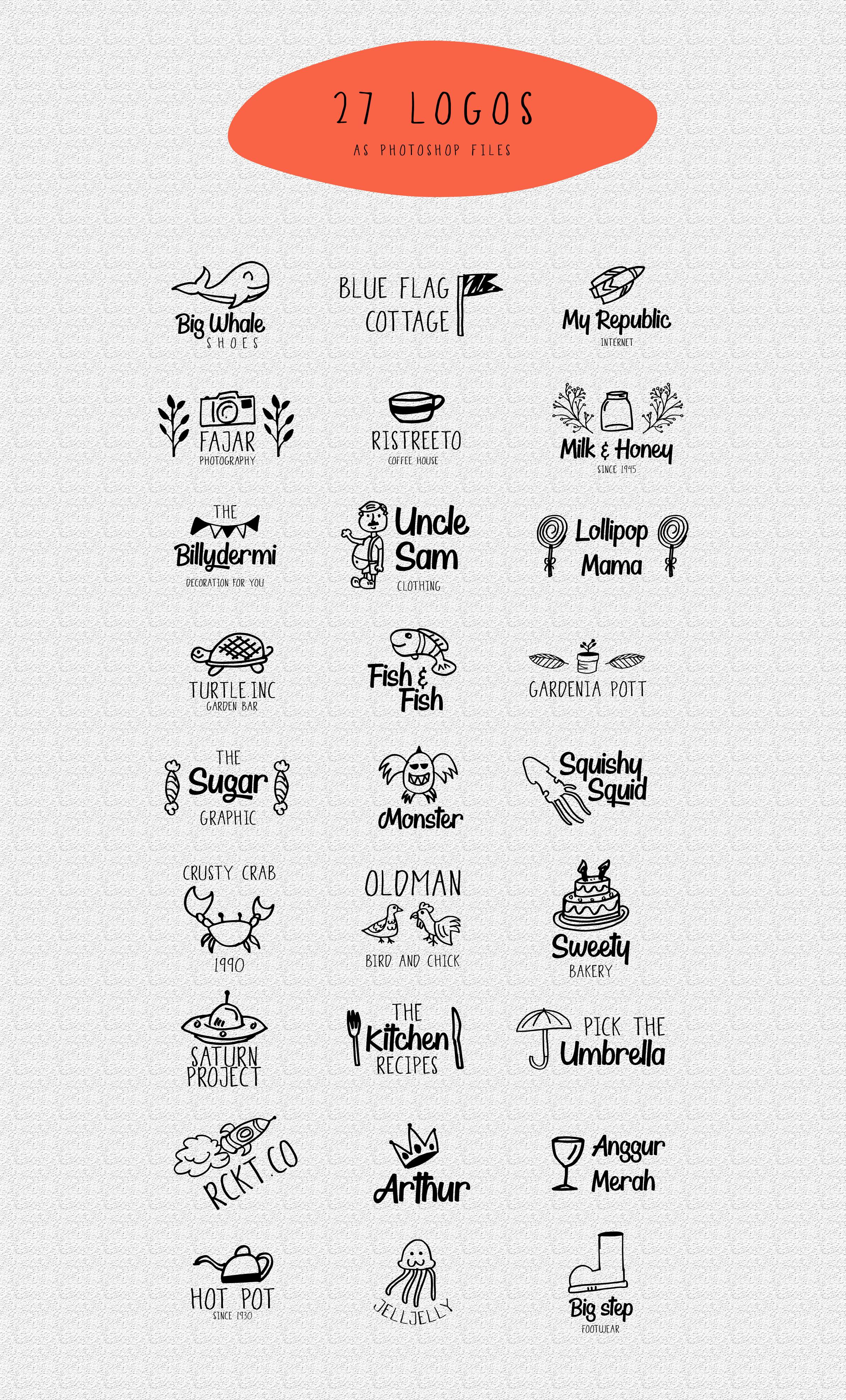 Thyeena Fonts & Illustration example image 14