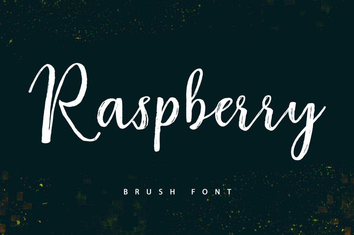 Raspberry Font Duo example image 13