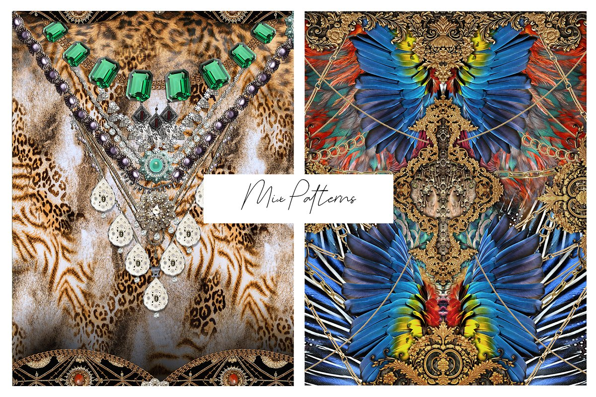 Mix Petterns Luxury example image 5