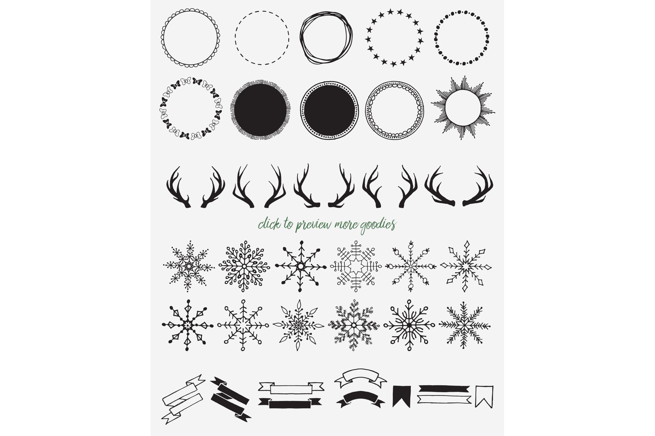 The Christmas Illustration Pack example image 4