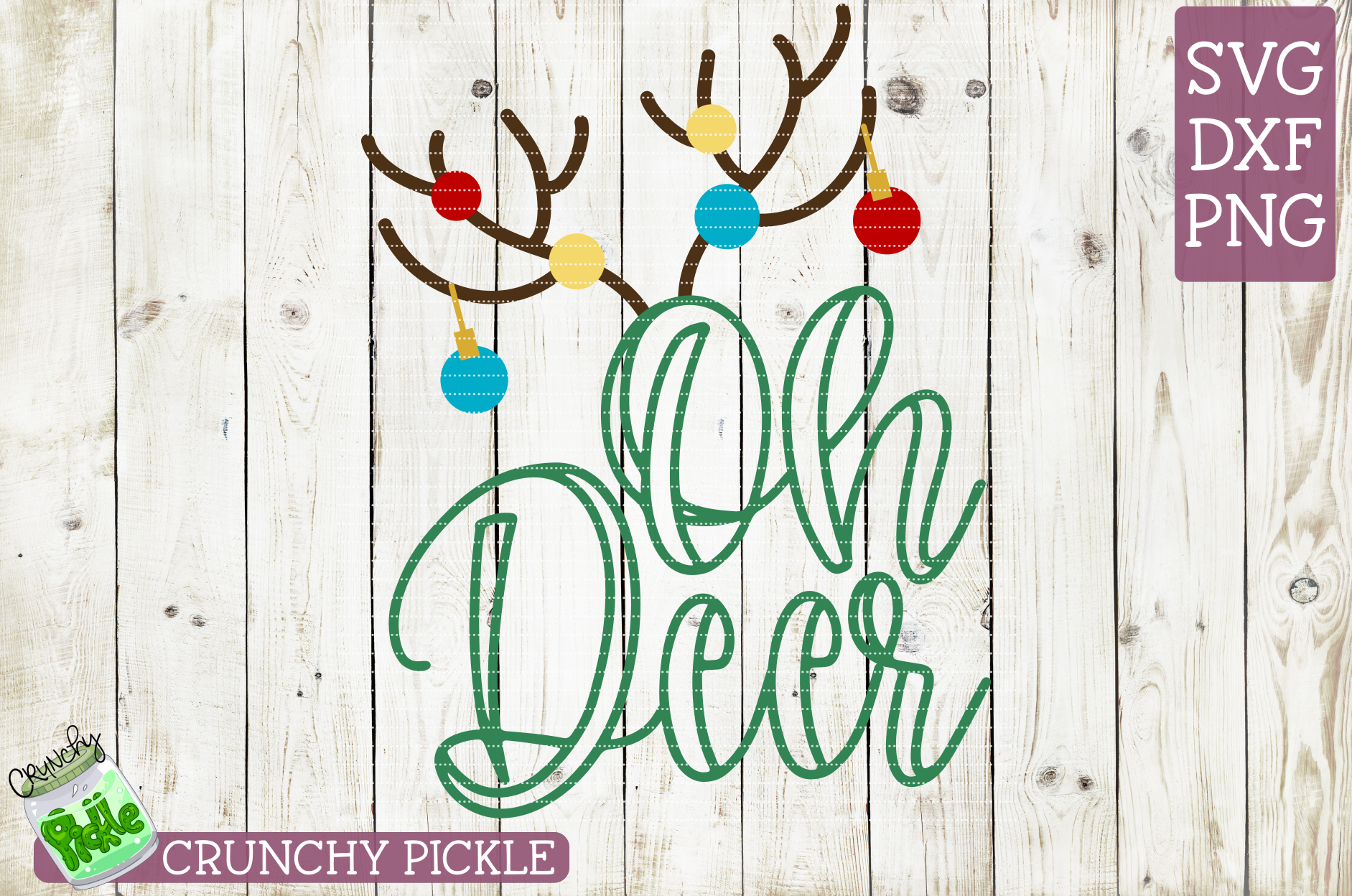 Oh Deer Christmas SVG example image 2