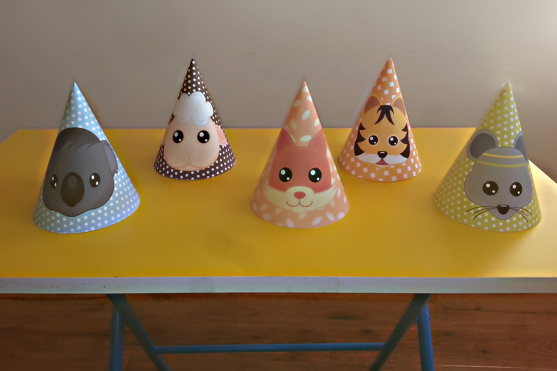 Birthday Hat Templates | PDF files example image 2