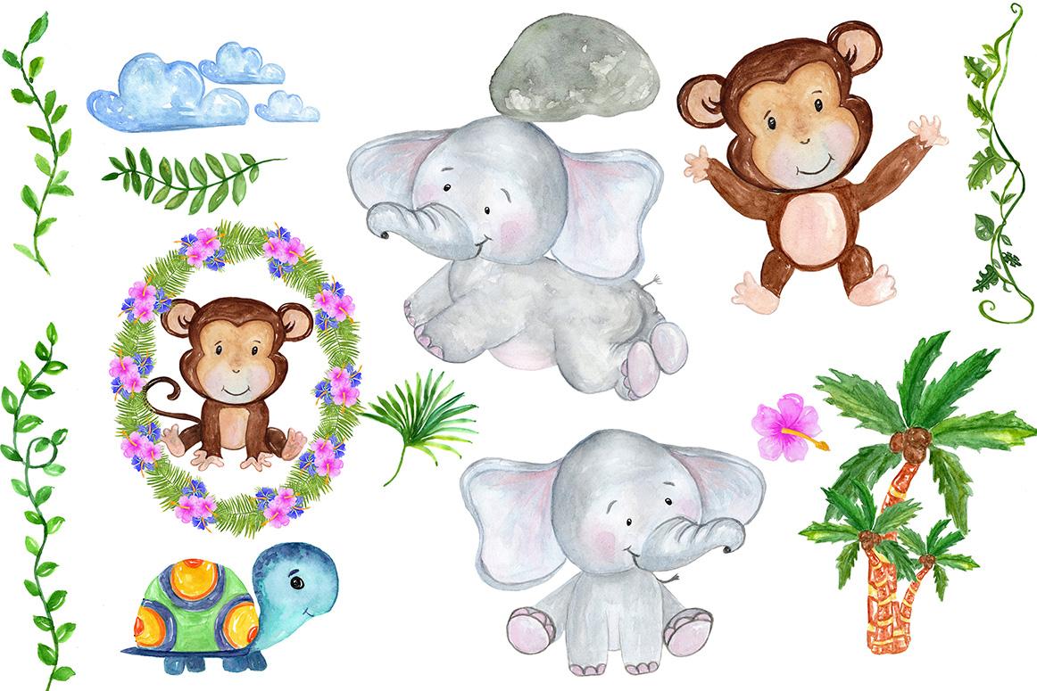 Safari Animals Clipart example image 2