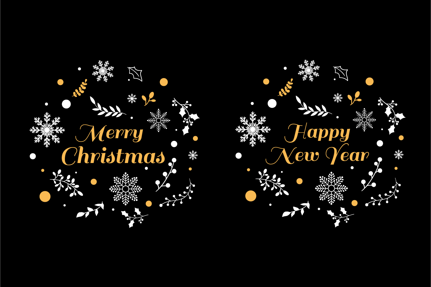 Christmas typography SVG Quote example image 1