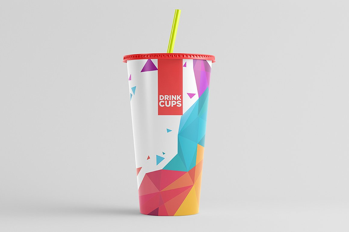 Drink Cups Mock-Up example image 3