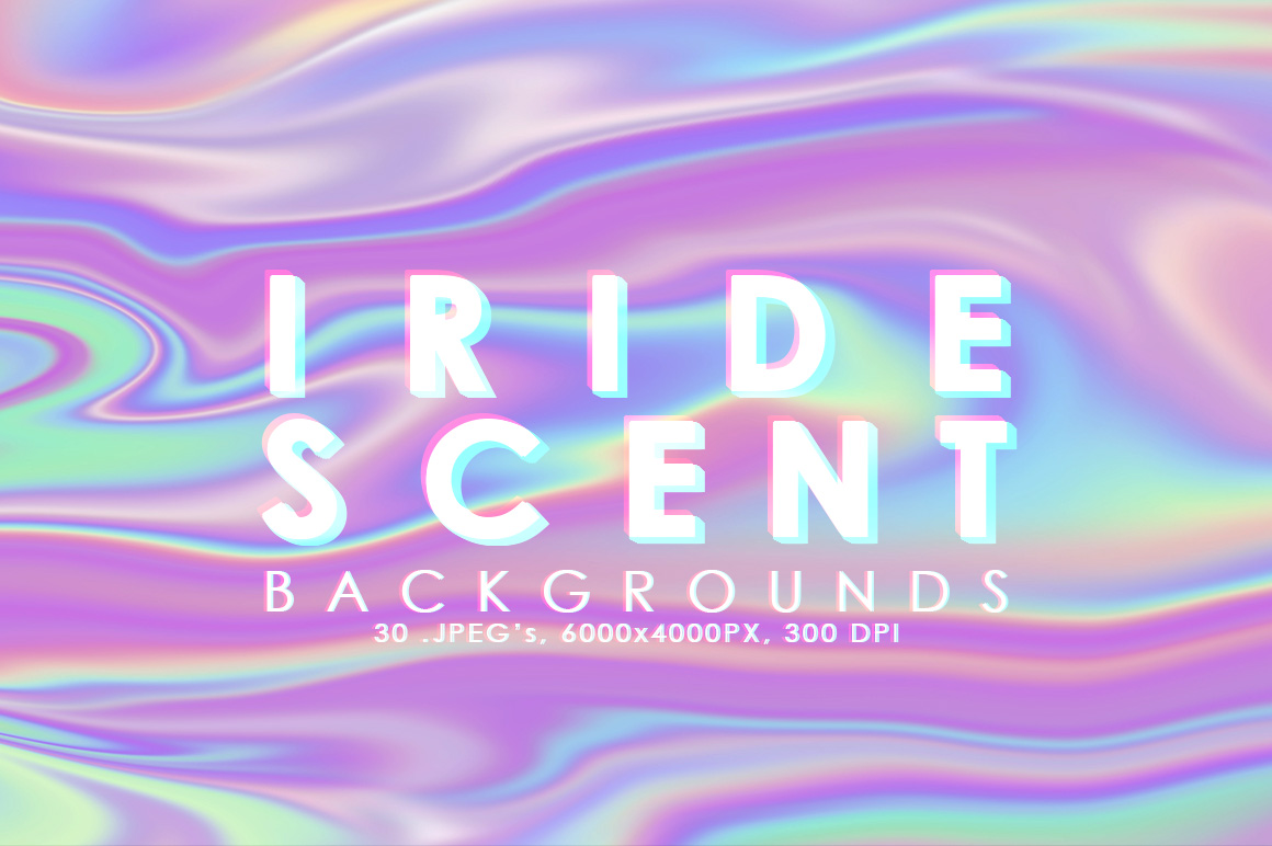 Iridescent Abstract Backgrounds example image 1