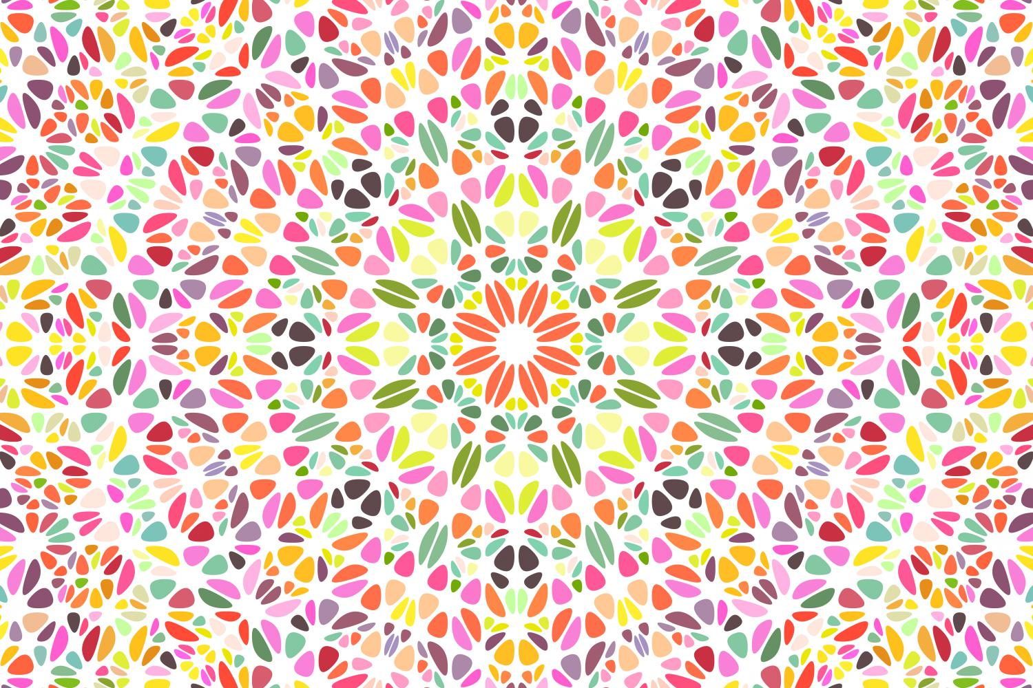 48 Floral Mandala Backgrounds example image 4