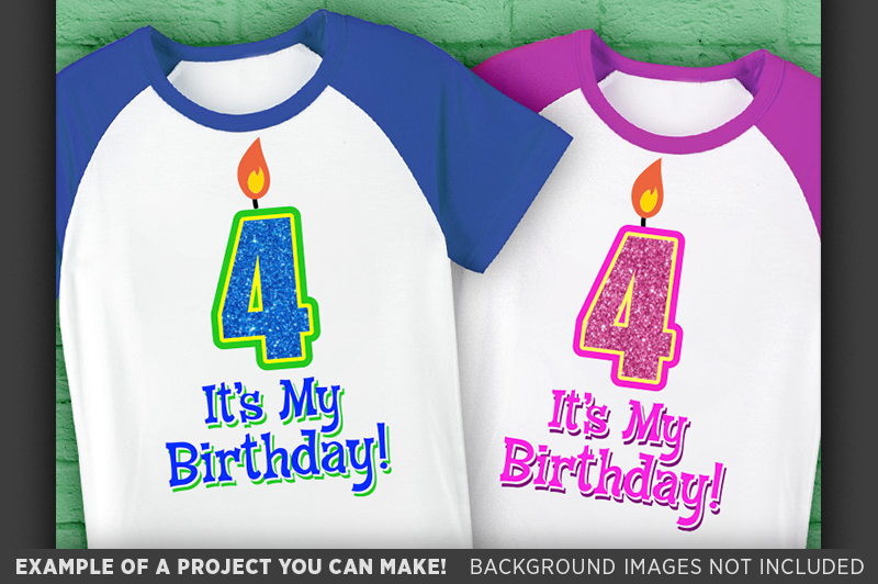 4th Birthday Svg - Its My Birthday SVG Birthday Shirt - 1031 example image 2