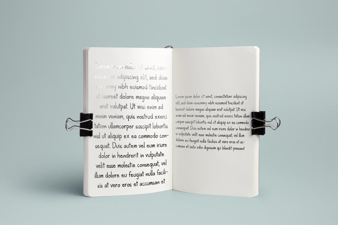 Kanda Handwriting Typeface example image 4
