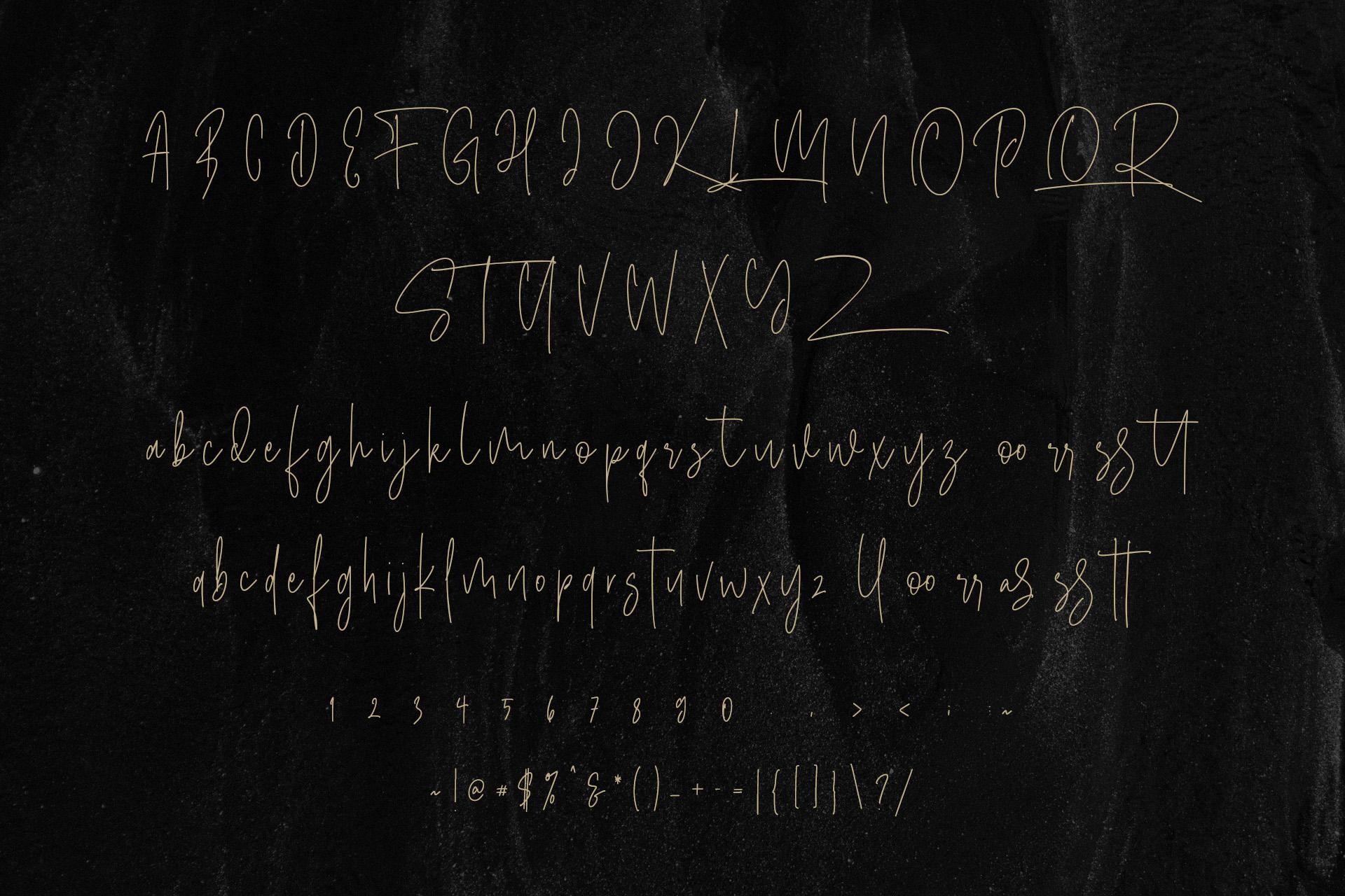 Masstro Signature Typeface example image 10