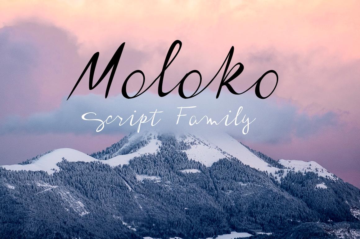 Moloko script family example image 1