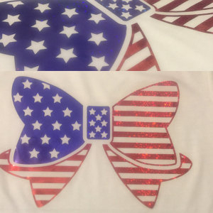 SVG 4th of July Bows 4 Cutting files example image 2