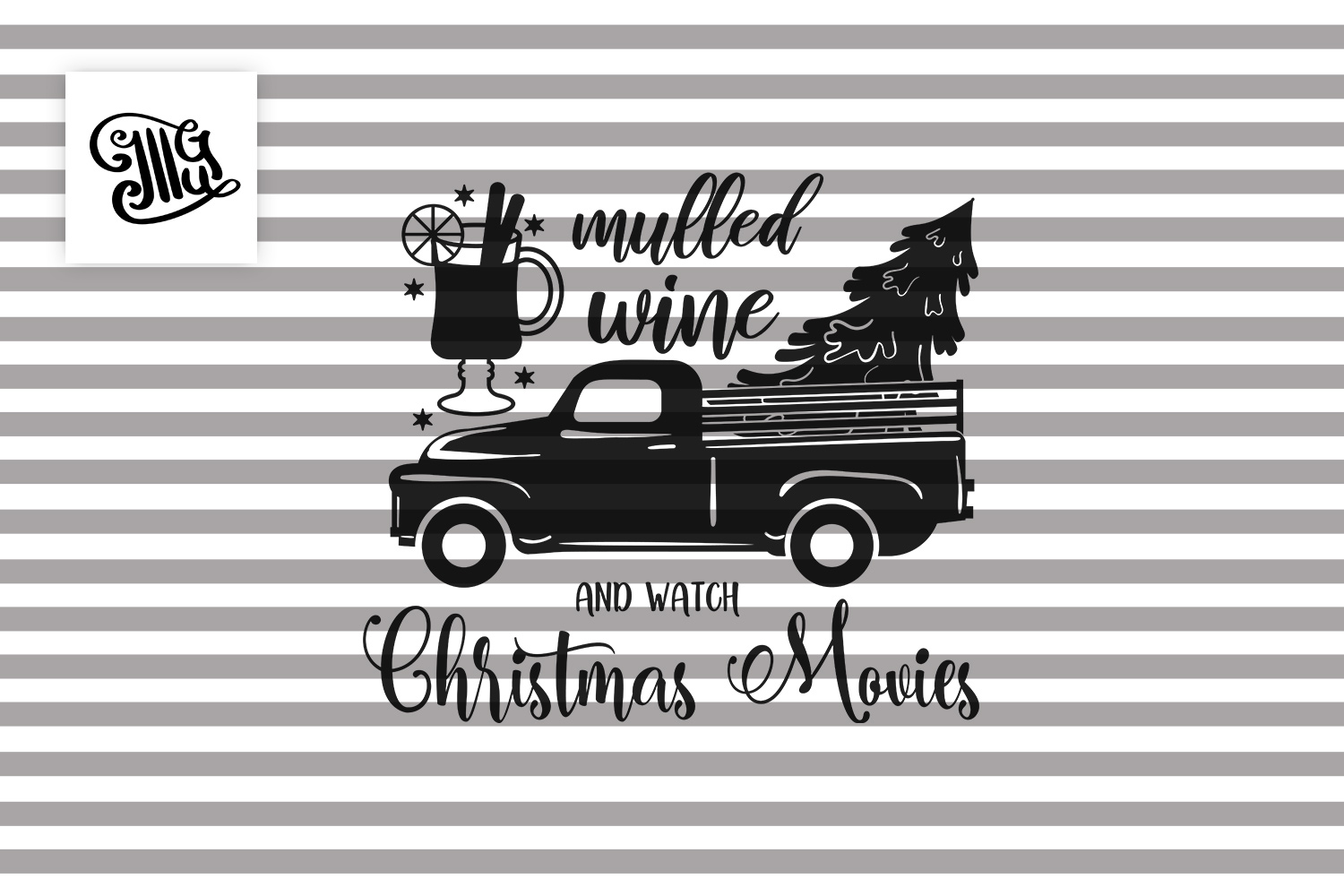 Mulled wine and Christmas movies - Christmas wine example image 2