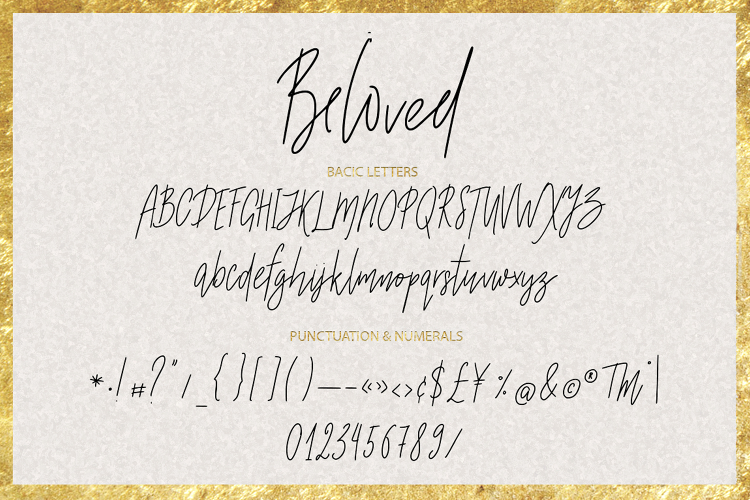 Beloved signature duo font. example image 6
