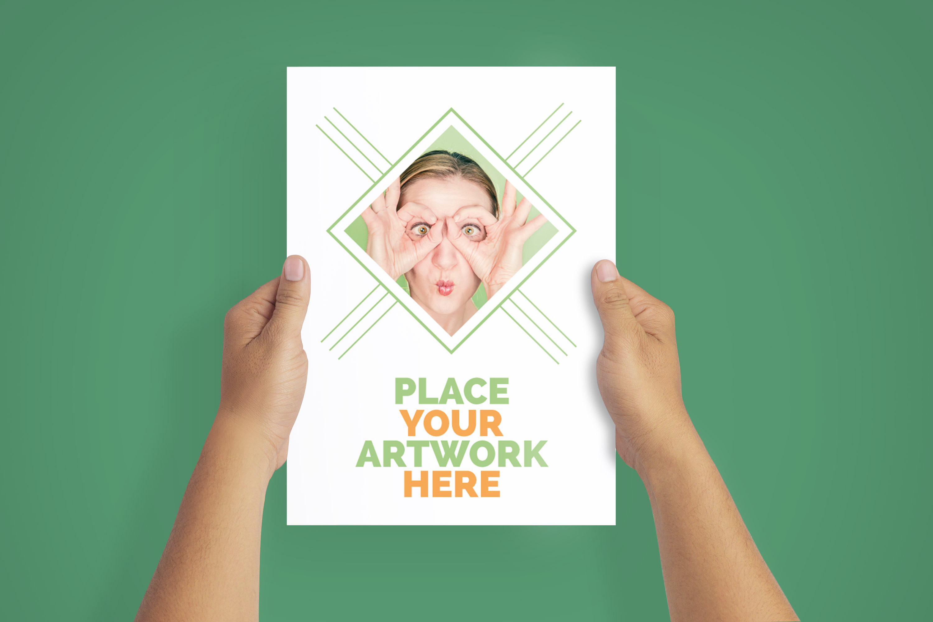A4 Flyer / Poster Mockups example image 3
