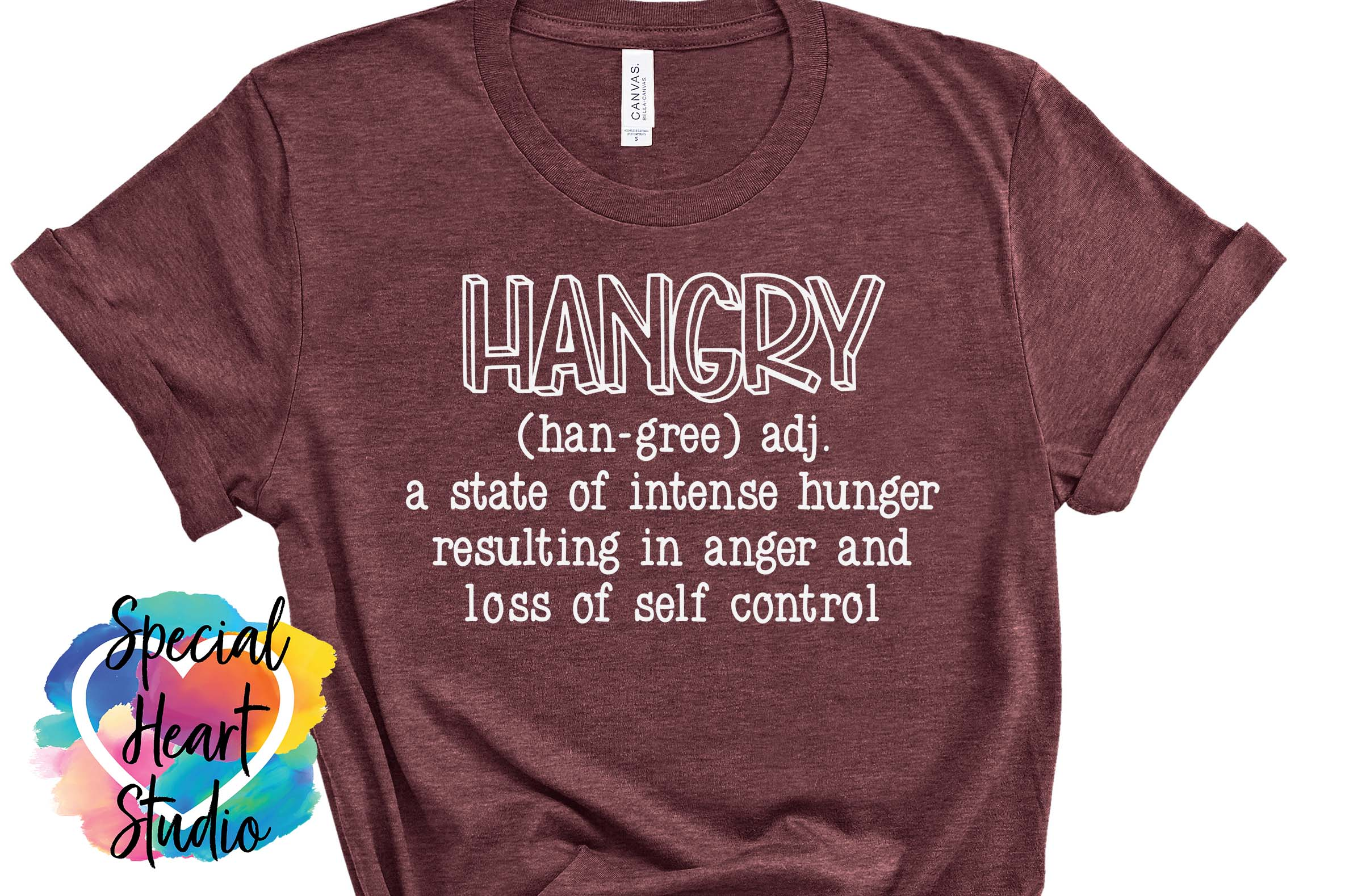 Hangry - A sarcastic and funny SVG file example image 3
