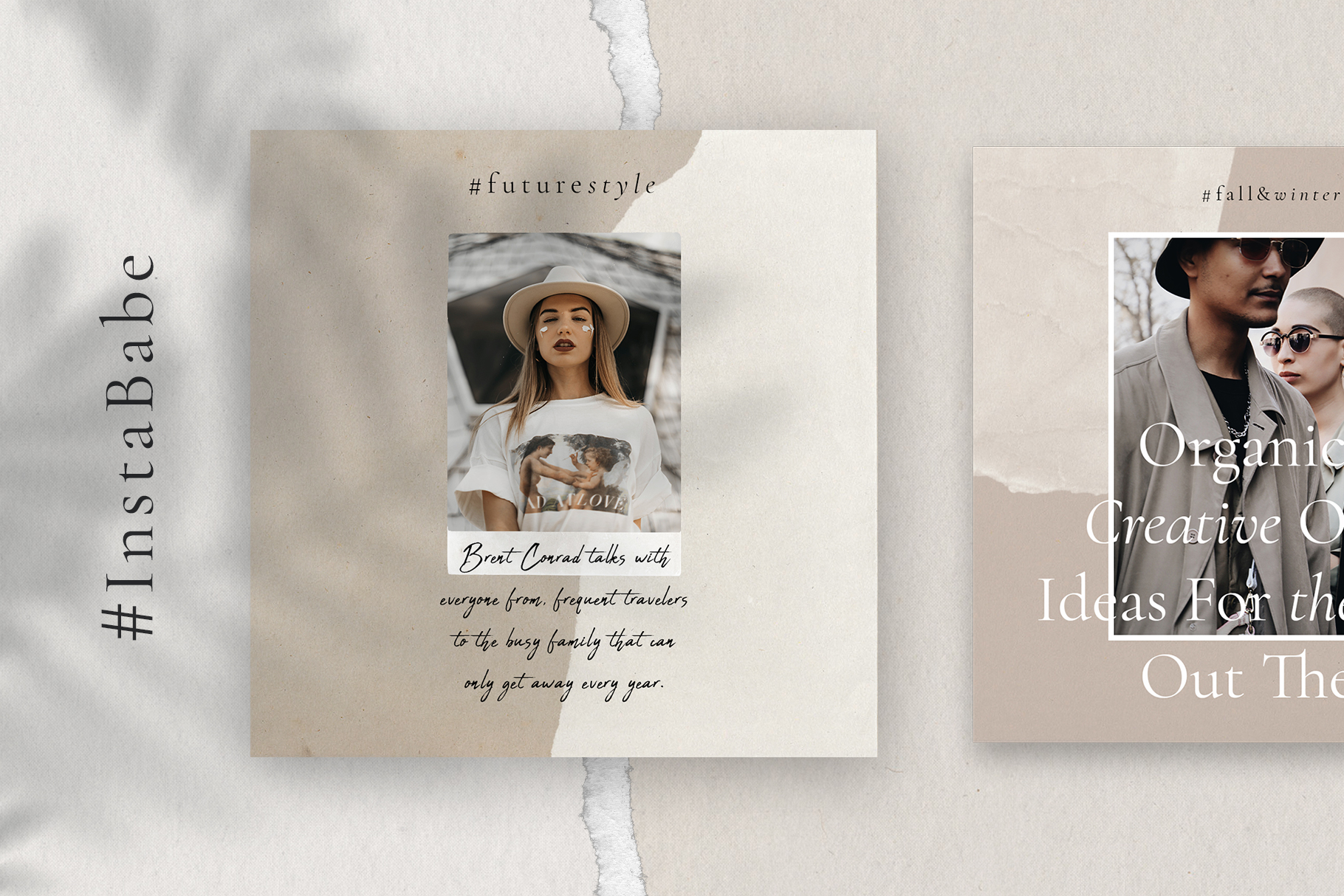 #InstaBabe Instagram Post Templates example image 7