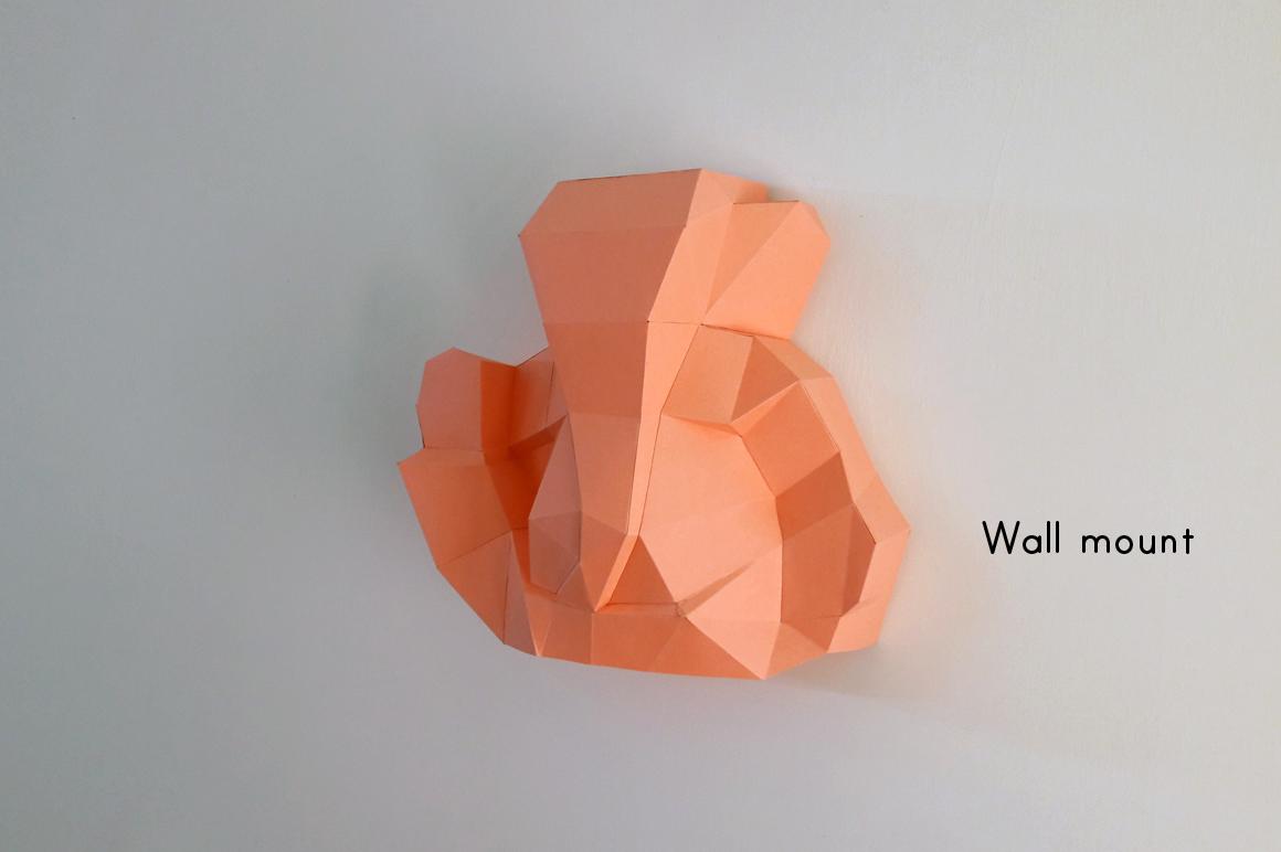 DIY Ganesha Sculpture - 3d papercraft example image 2
