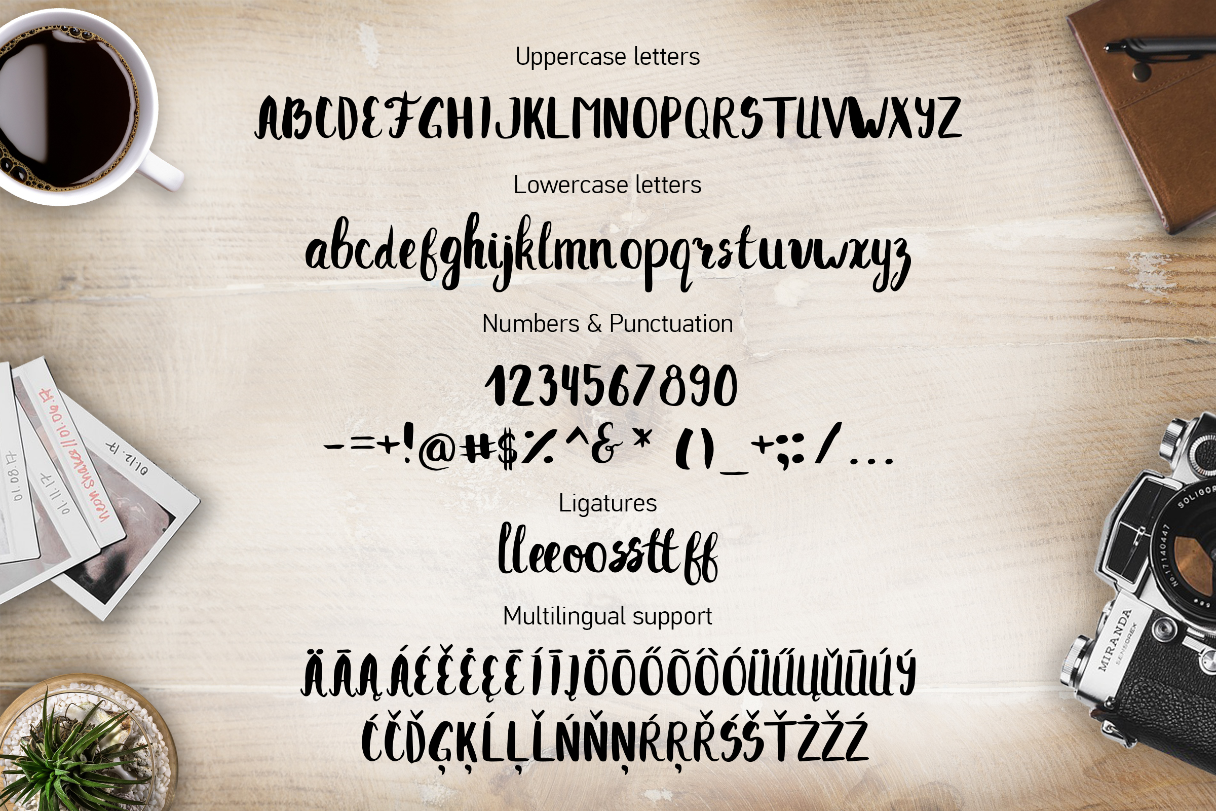 TOKKI Cute brush font example image 2
