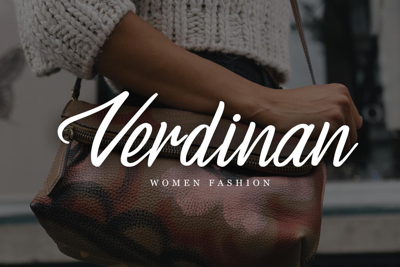Vandame - Fontscript example image 5