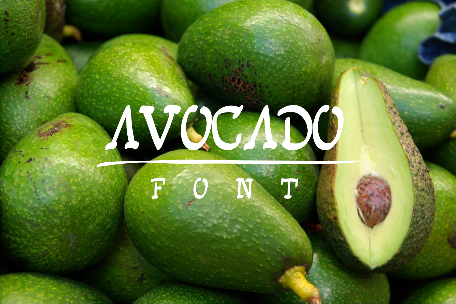 avocadofont example image 1
