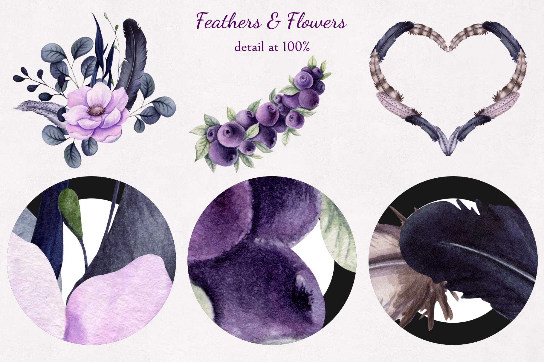 Feathers & Flowers example image 10