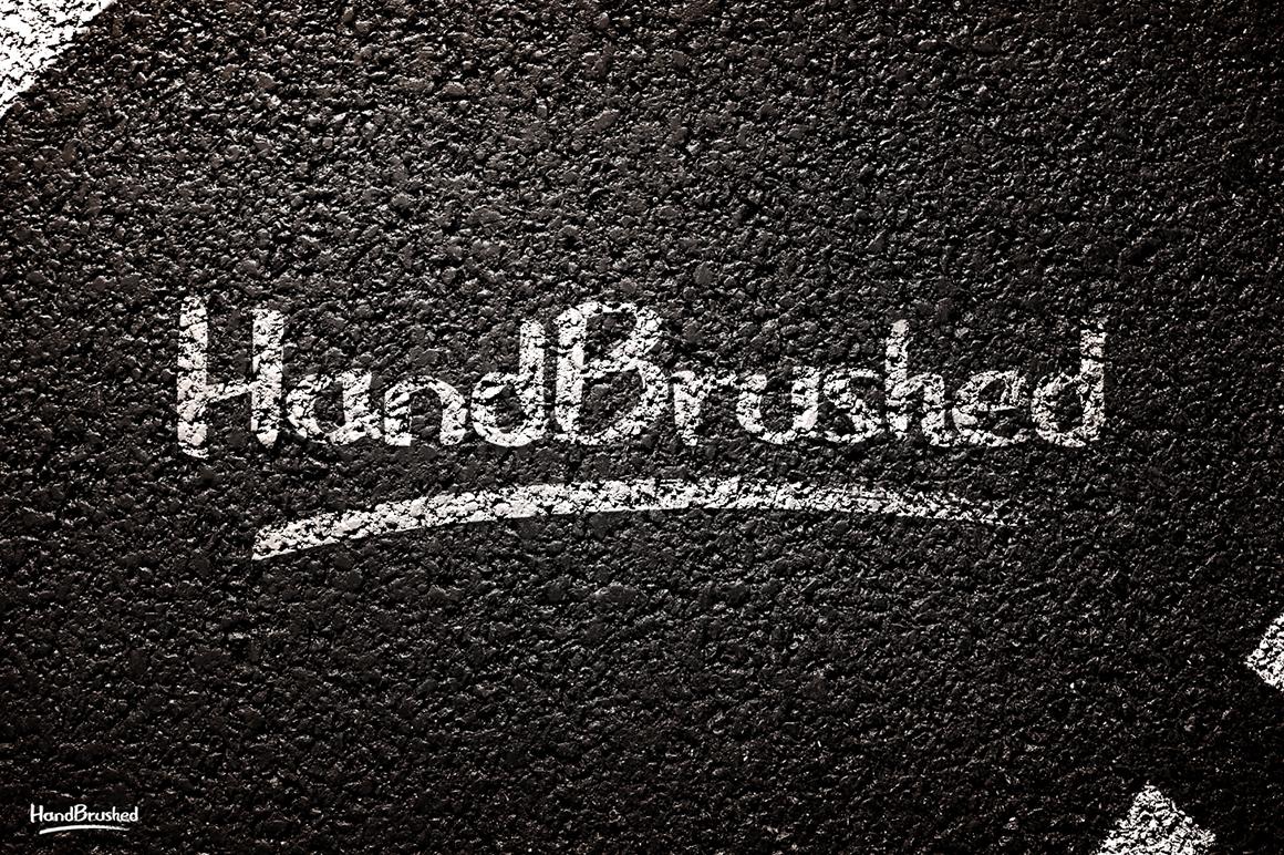 HandBrushed Font example image 3