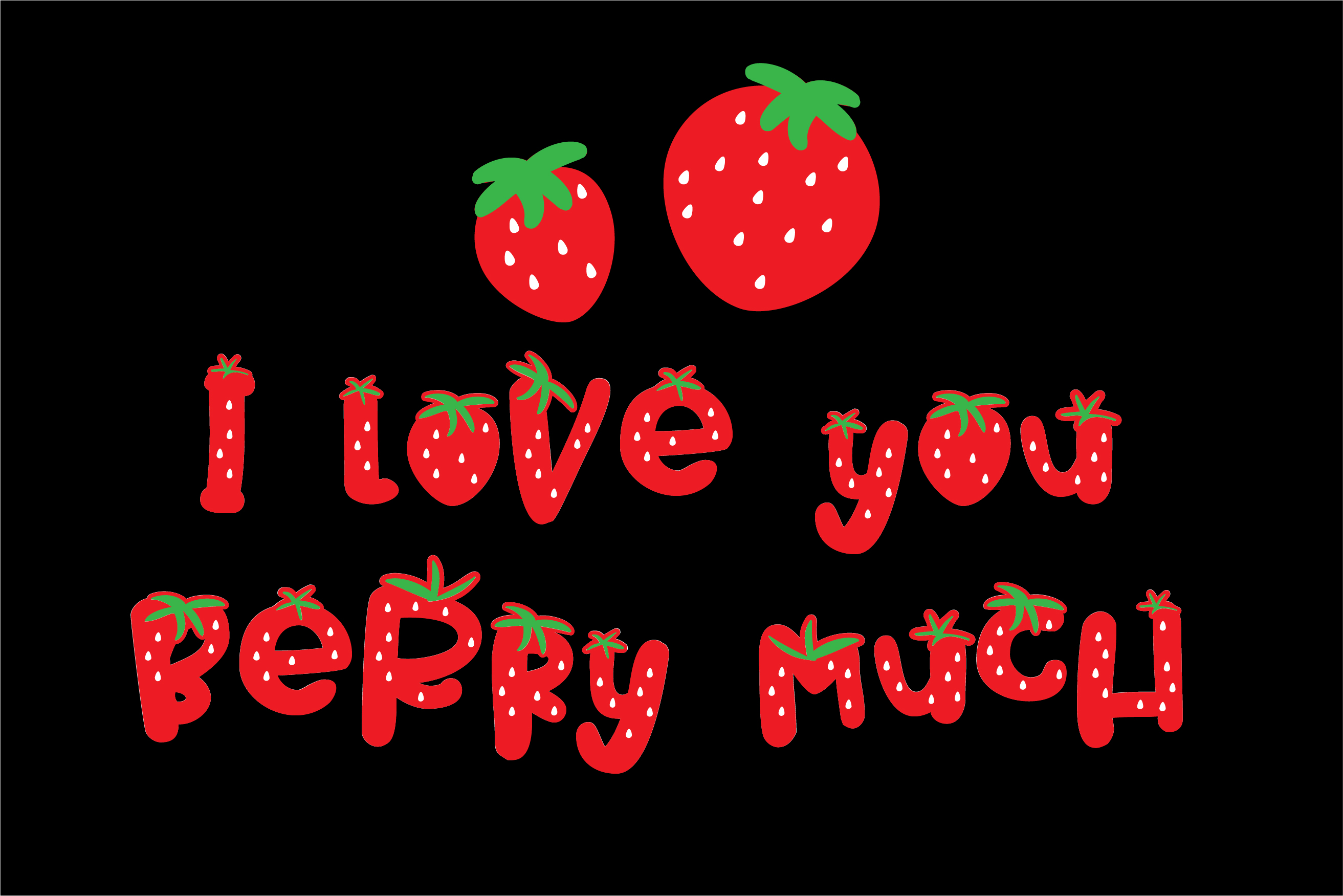 PN Strawberry Pillow example image 5