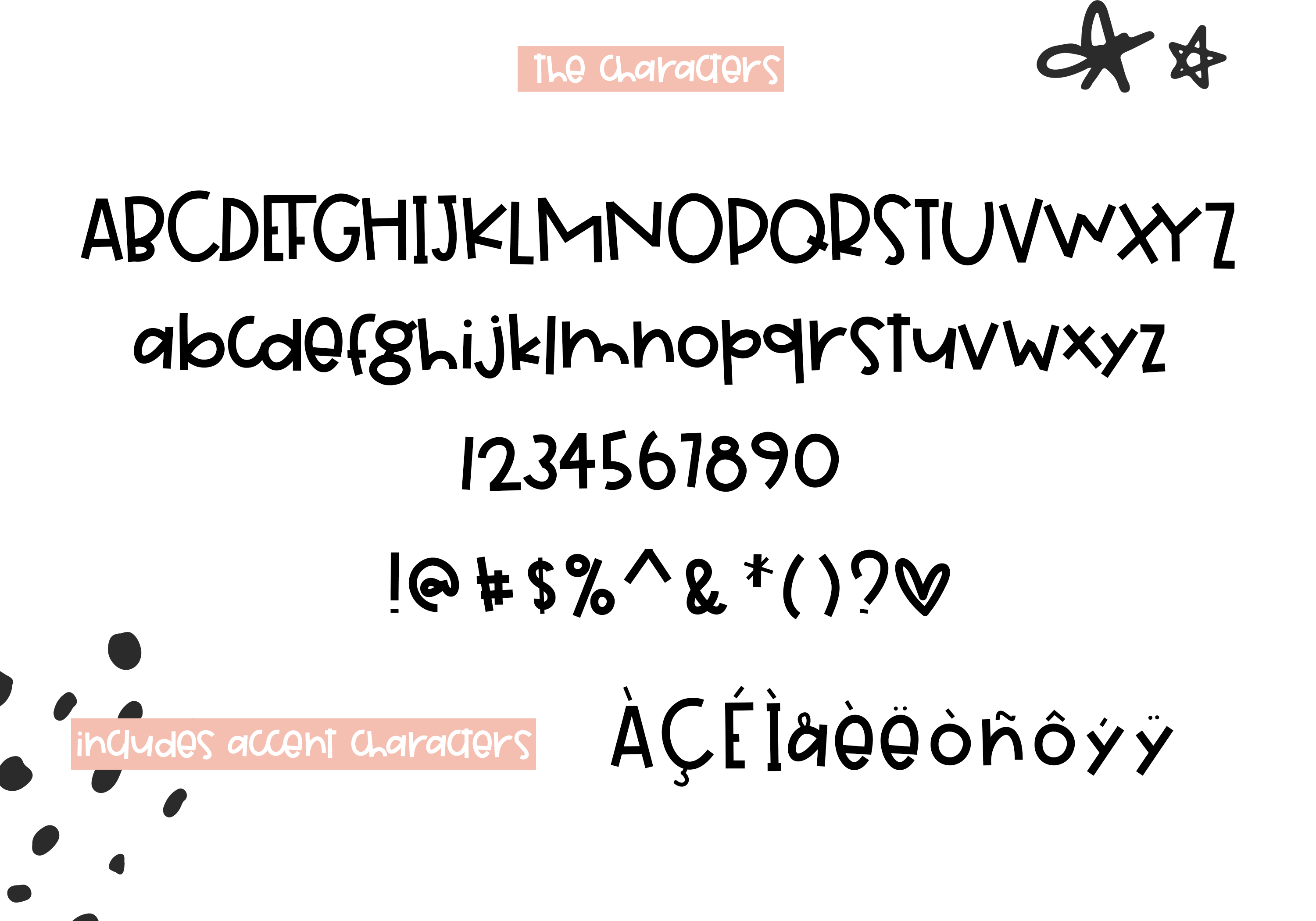 Grapefruit - A Fun & Quirky Font example image 7