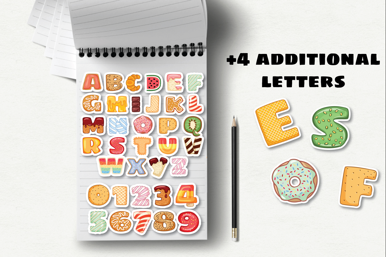 Tasty Alphabet & Yummy Postcards Set example image 6