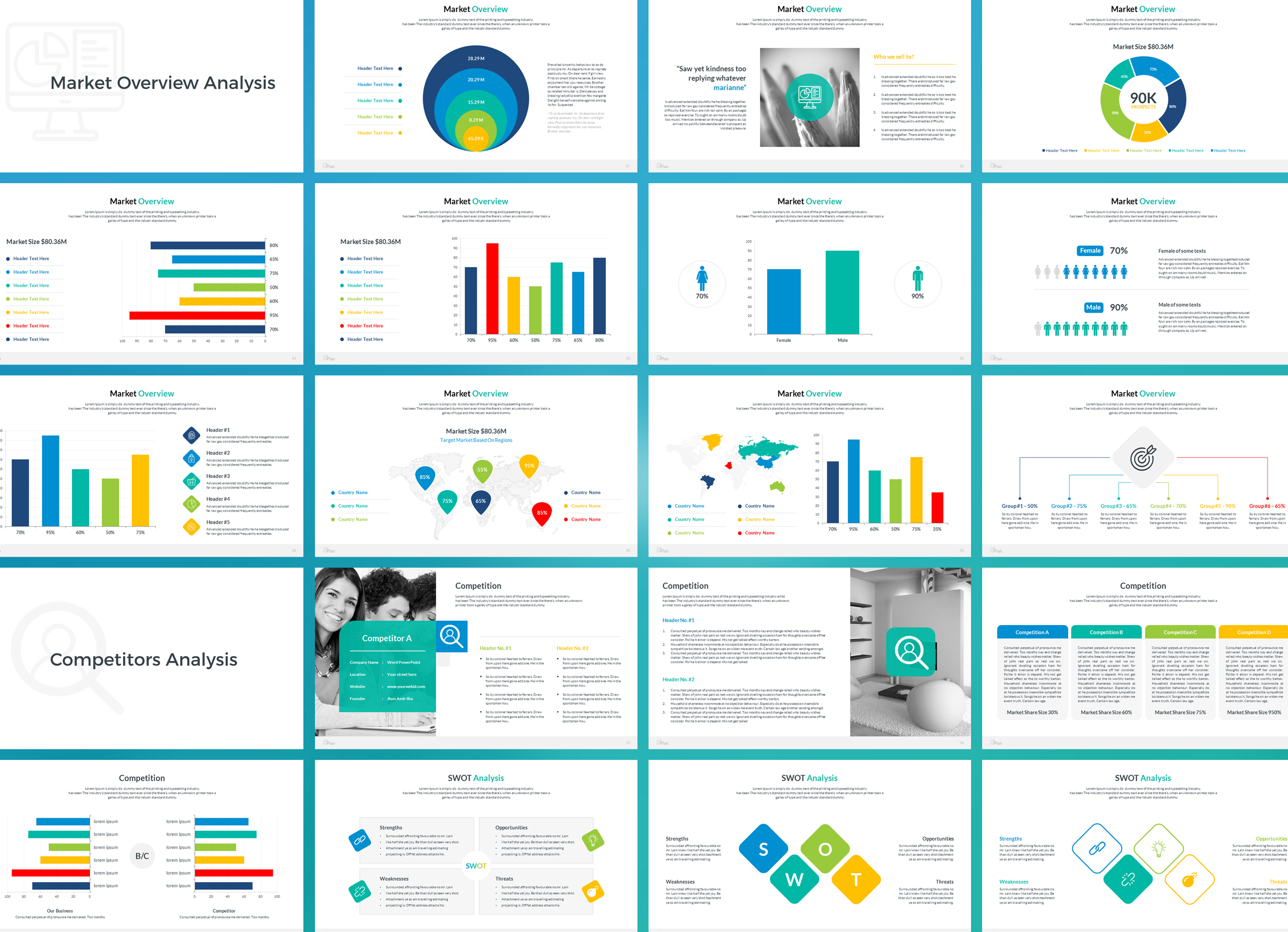 Business Plan Keynote Presentation Template example image 6
