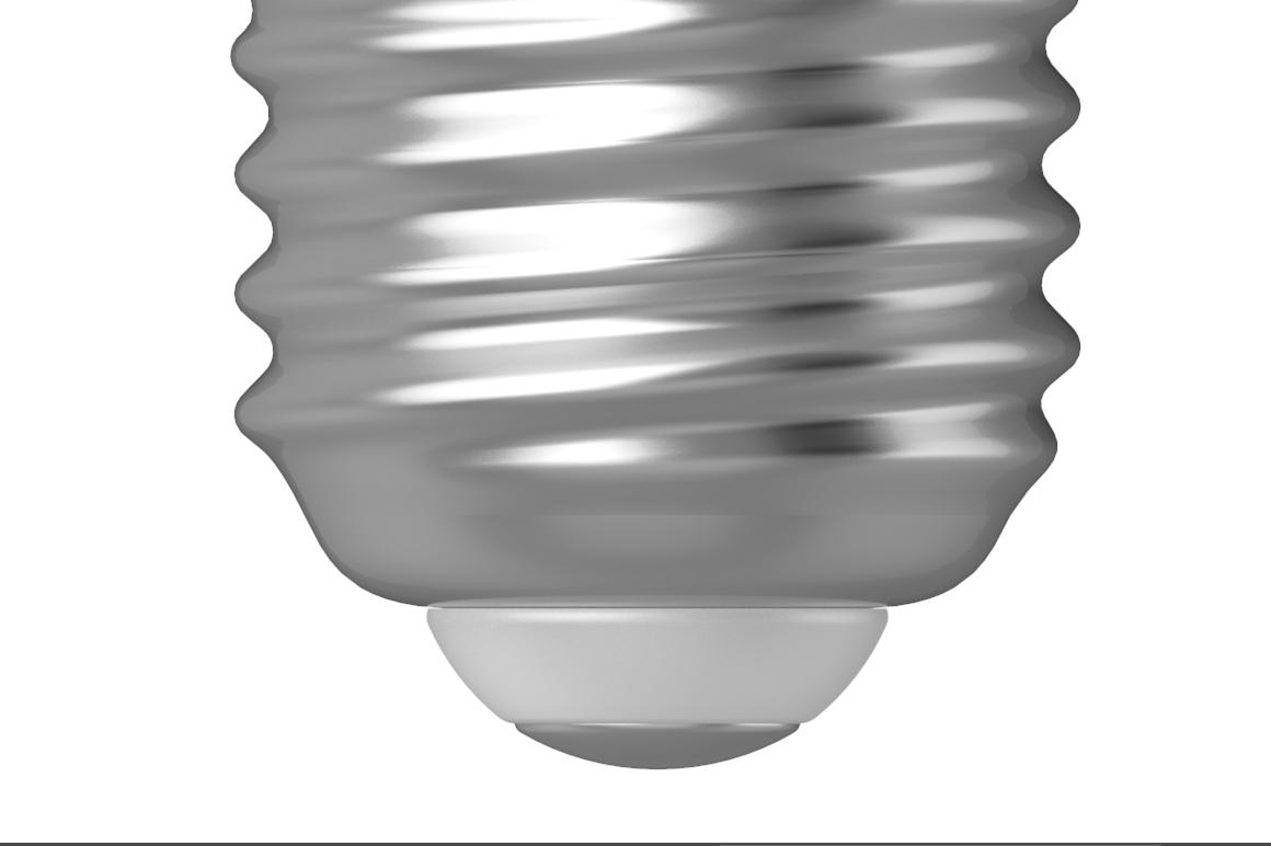 Glossy & Matte LED Bulb Mockup example image 6
