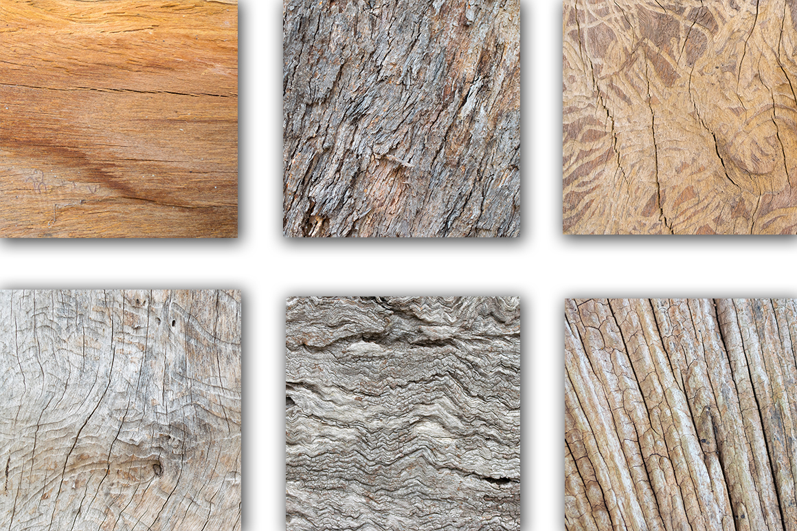 Real Wood Texture Bundle example image 2