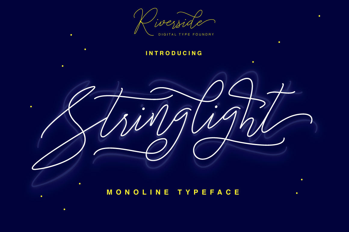 Stringlight Typeface example image 1