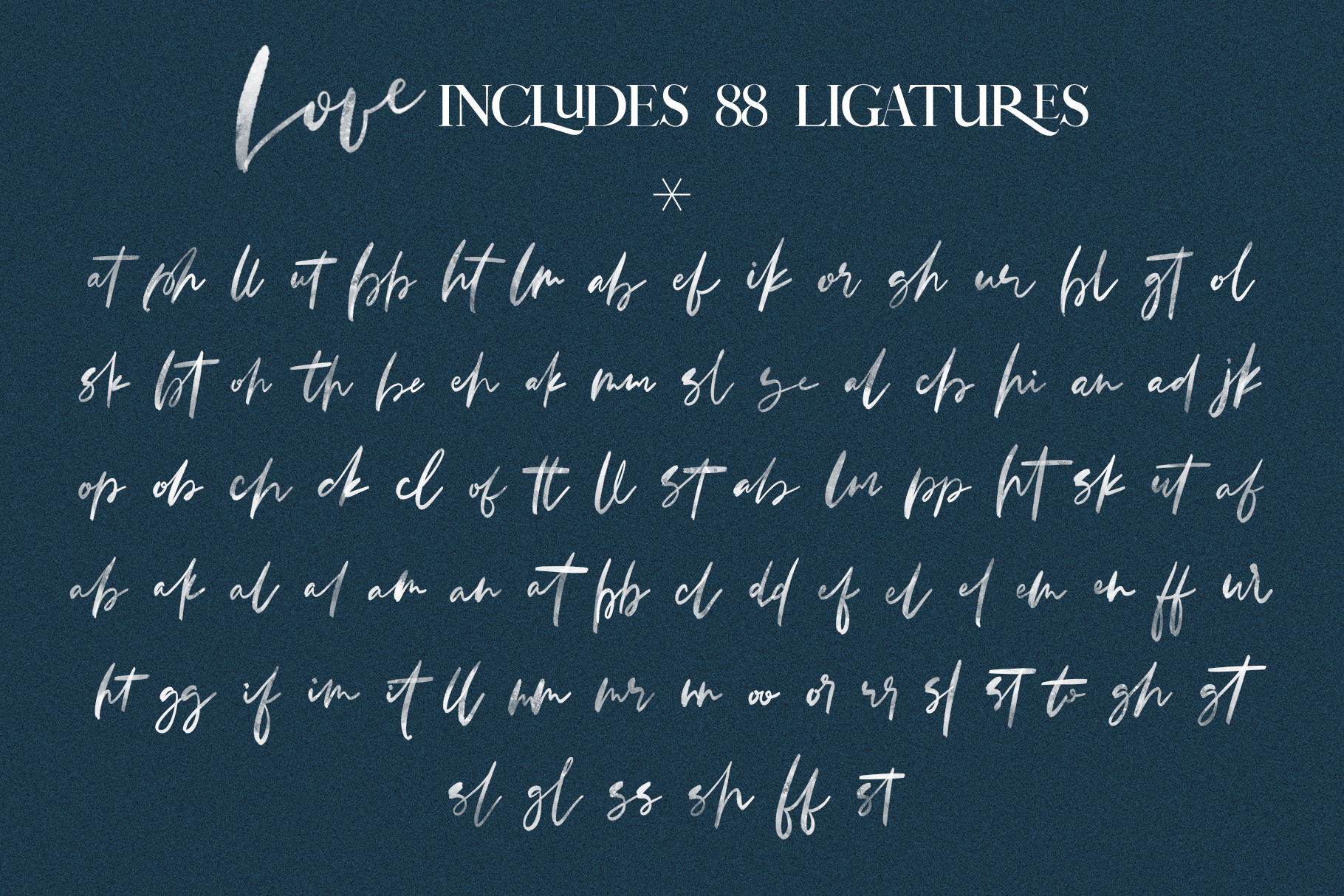 January Love Font Duo With 10 Logos & More Extras example image 27