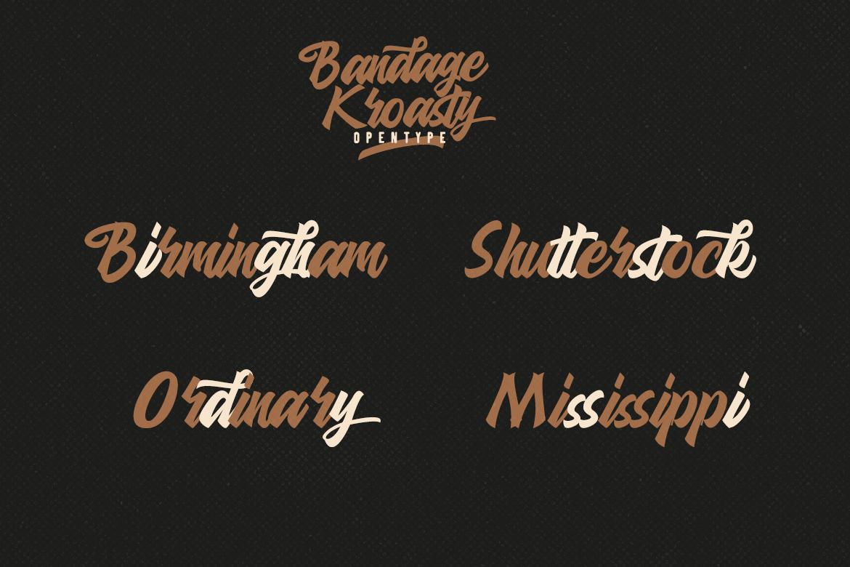 Bandage Kroasty example image 4