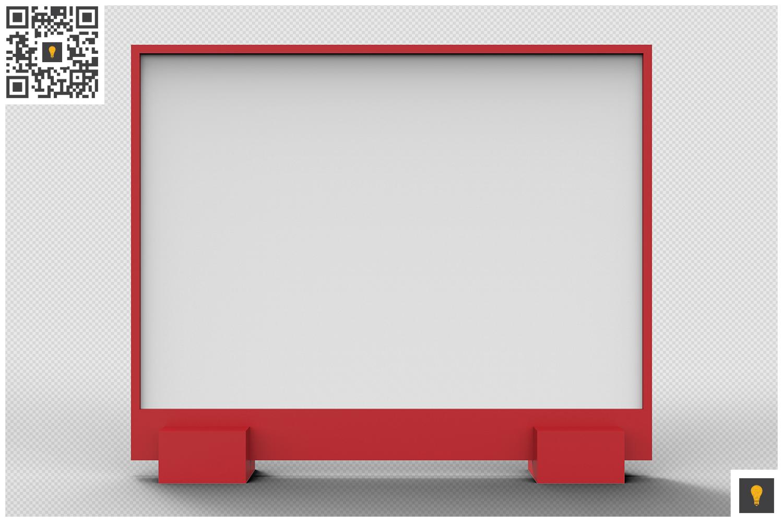 Flyer Display 3D Render example image 14