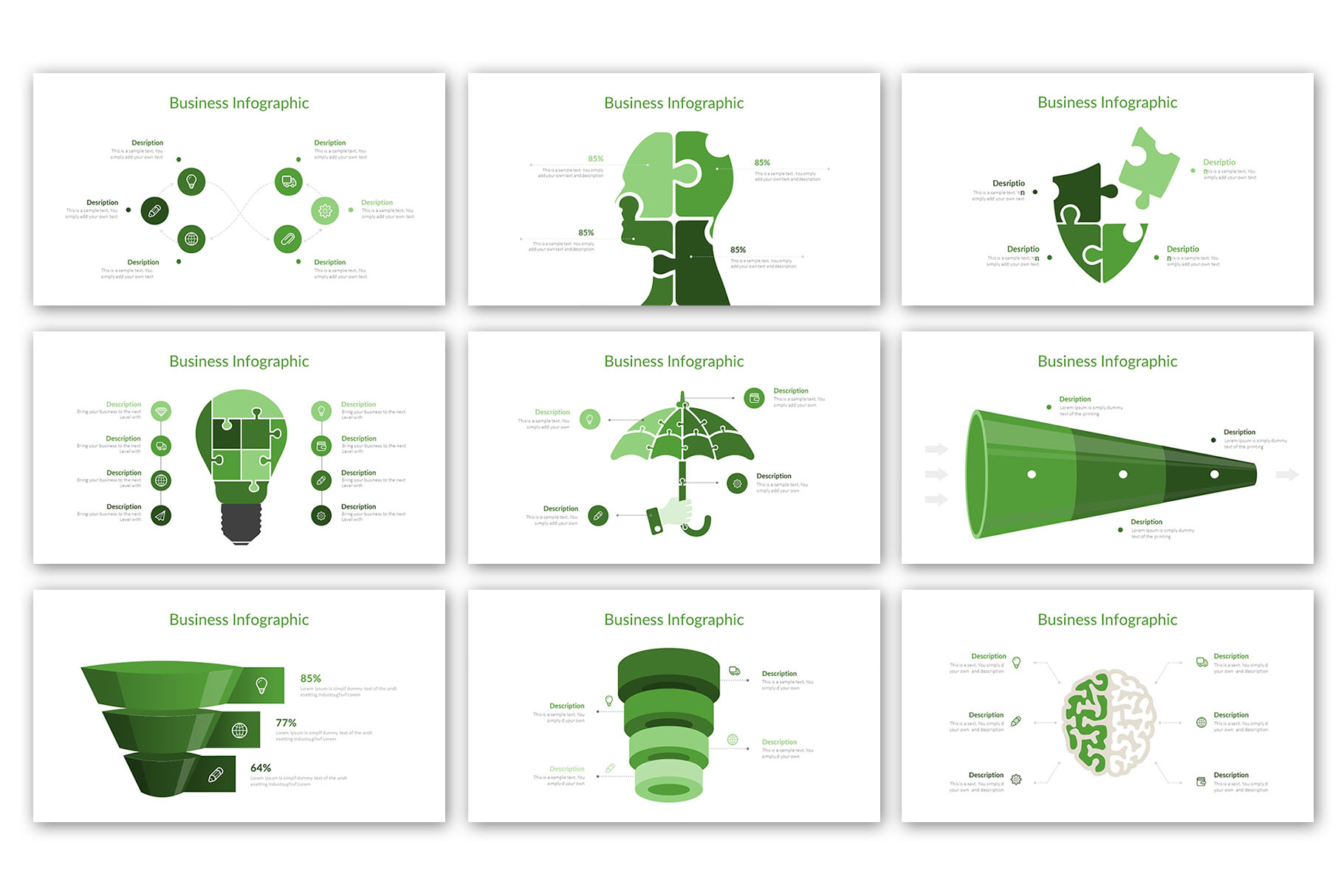 Modern Business Presentation Template example image 15