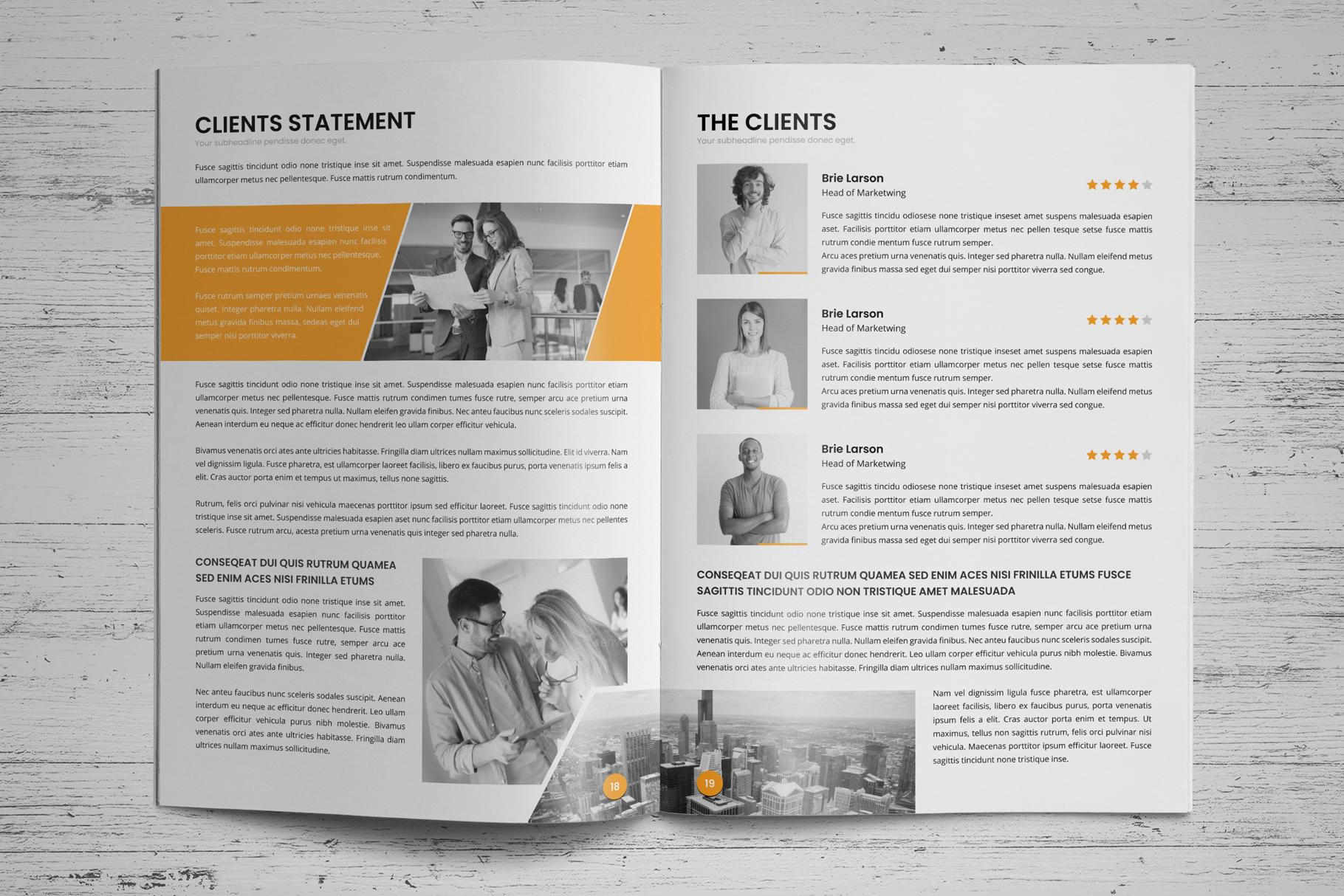 Annual Report Design v6 example image 12