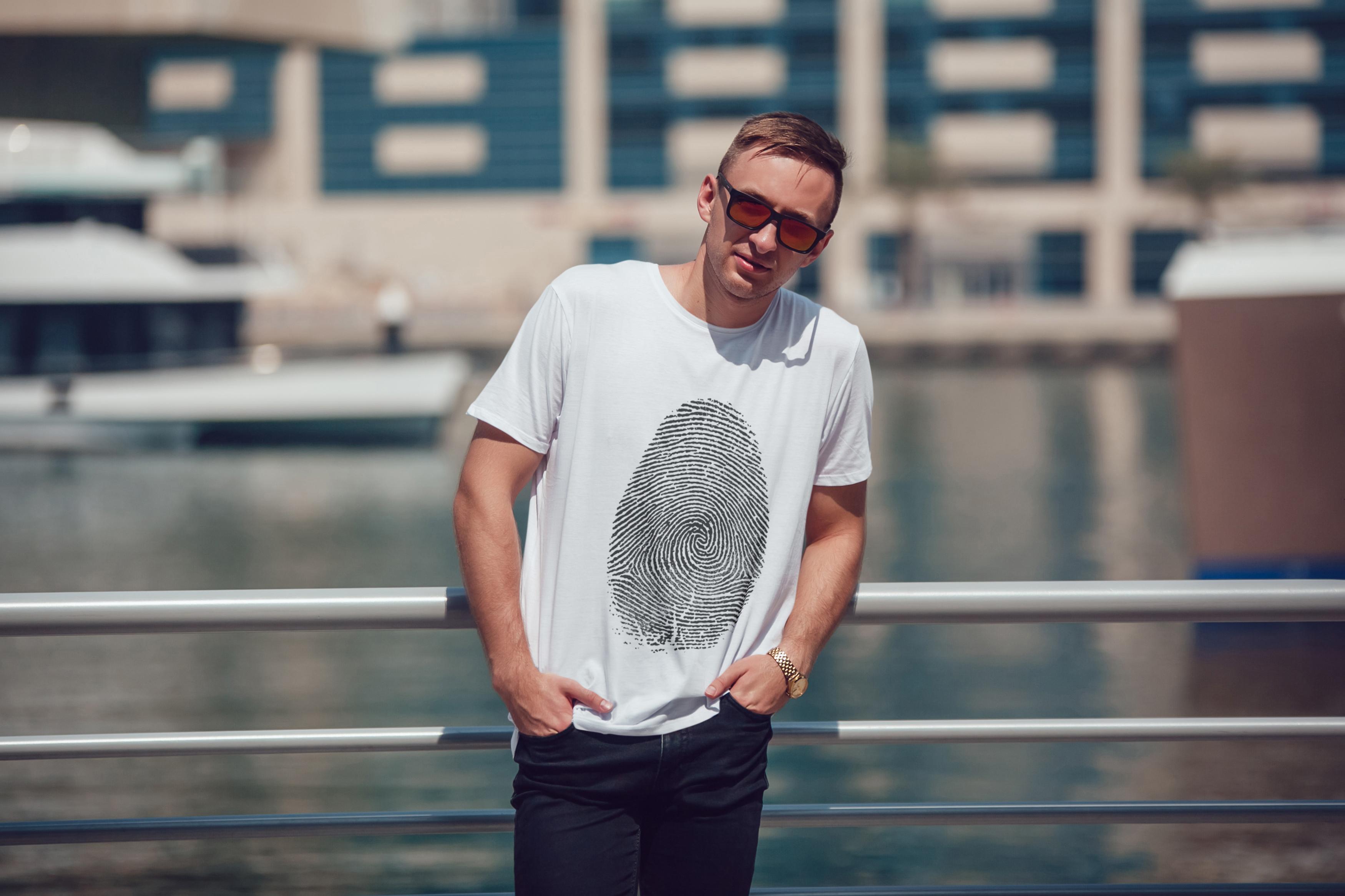 Men's T-Shirt Mock-Up Vol.5 2017 example image 19