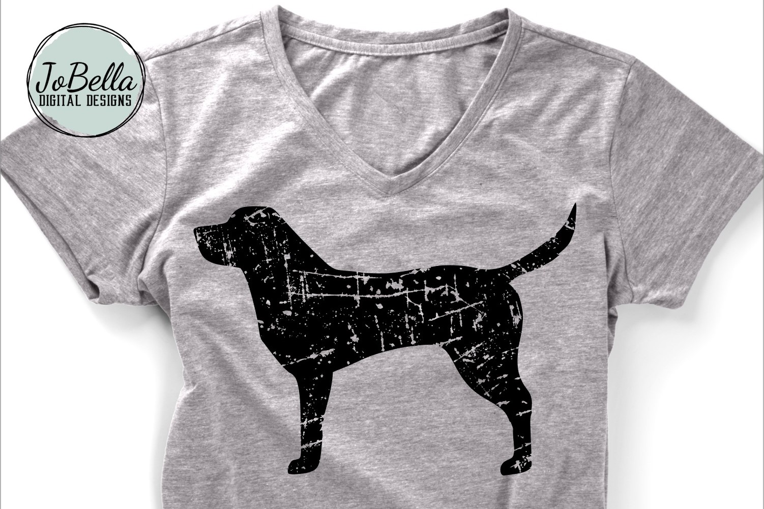Distressed Dogs Bundle - Popular Dog Breed Grunge Designs example image 6