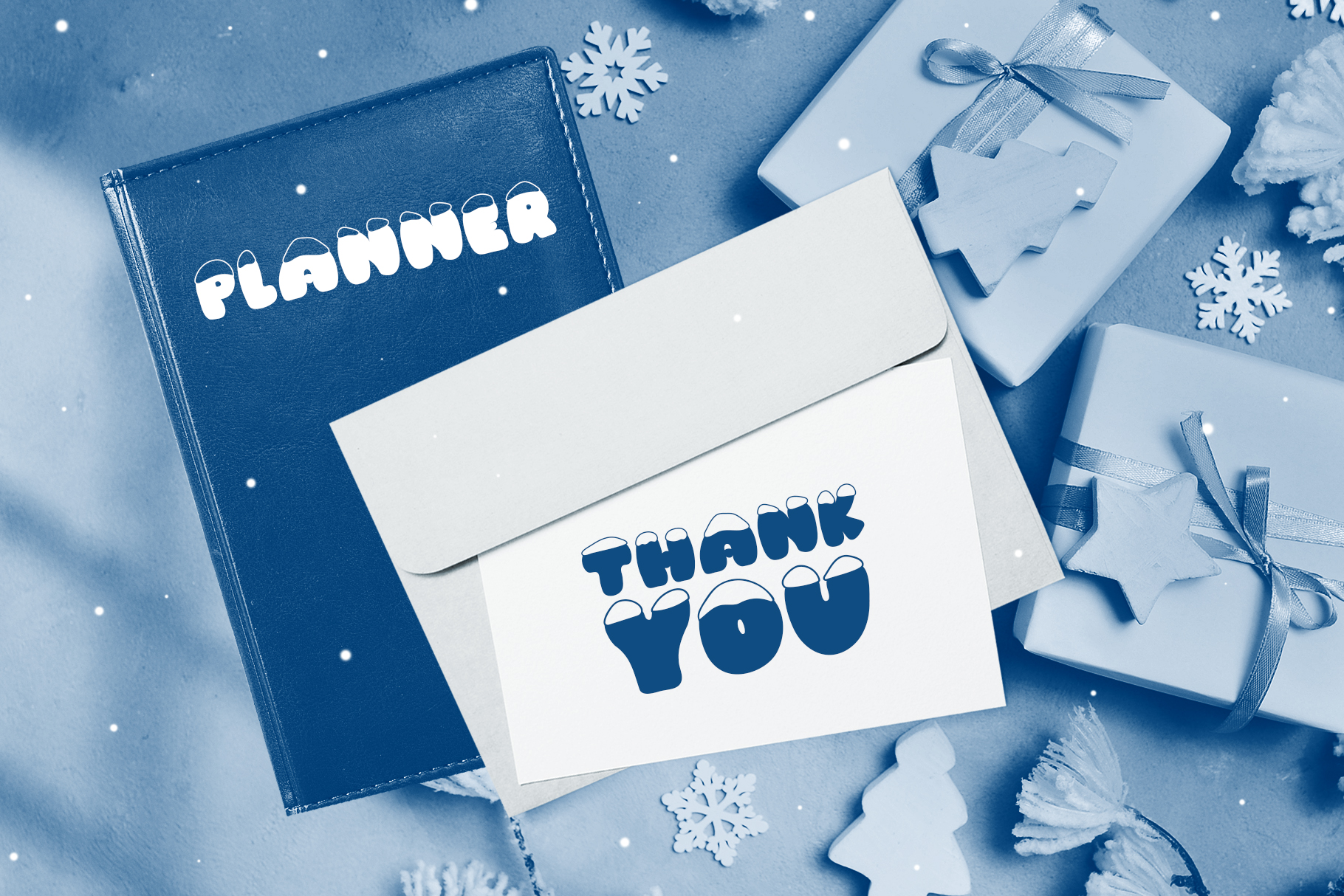 Frosty Joy Hand Drawn Display Font example image 8