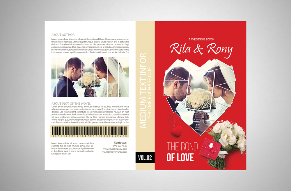 Love Story Book Cover example image 3