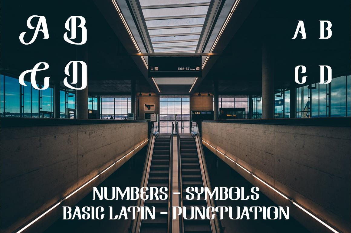 Ringam Typeface example image 3