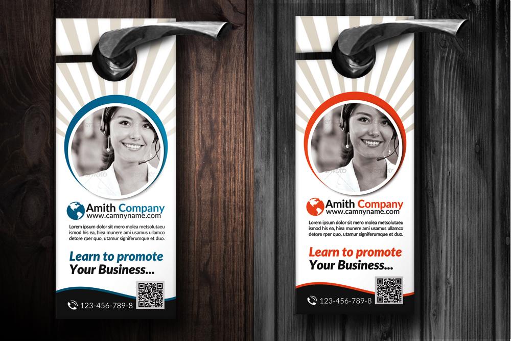 Creative Business Door Hangers example image 2