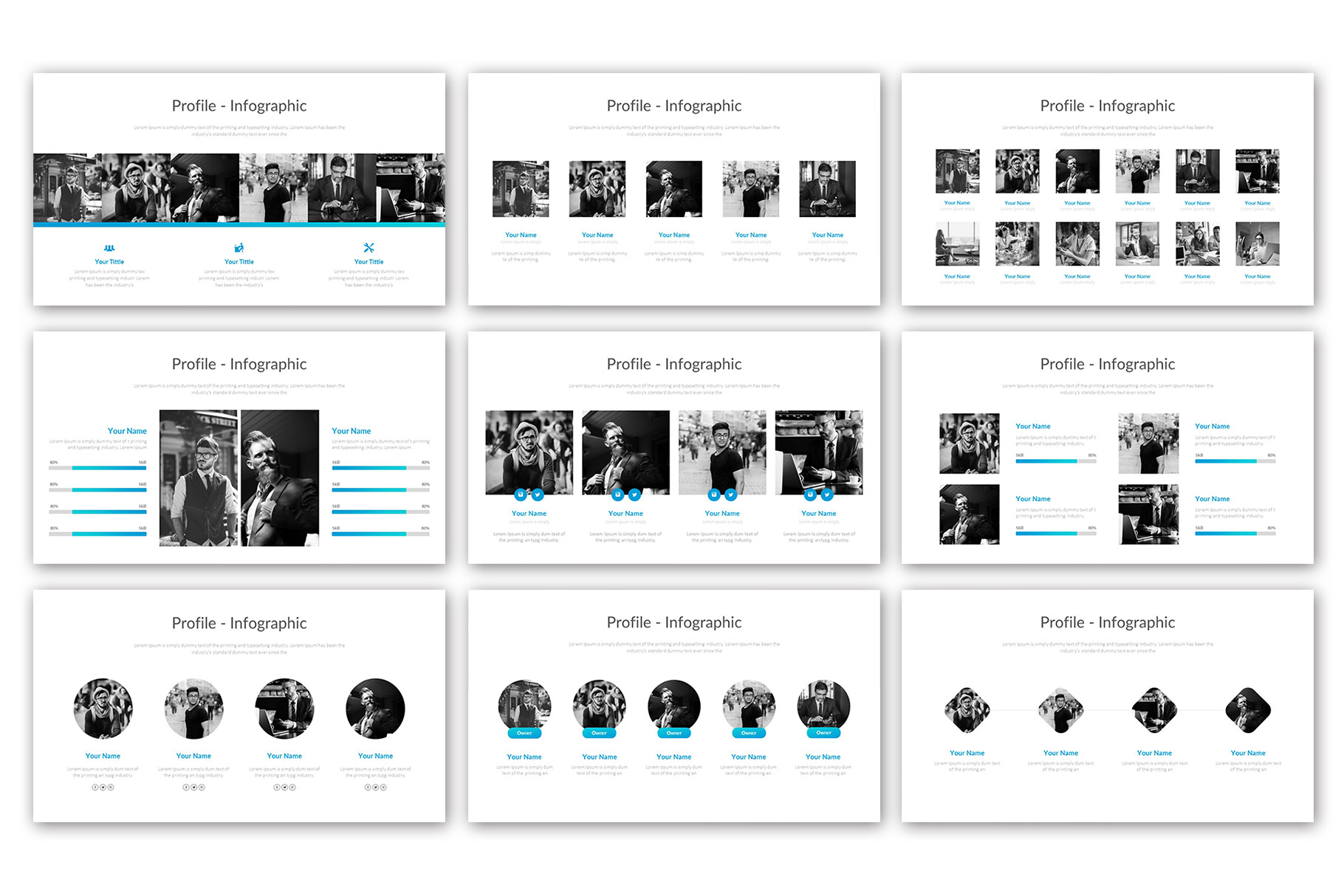 Big Business Presentation Template example image 7