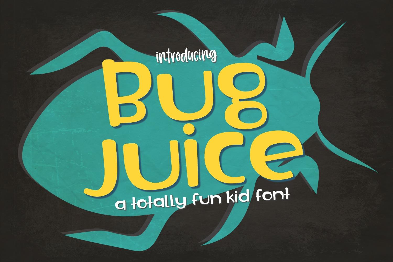 Bug Juice Font example image 1