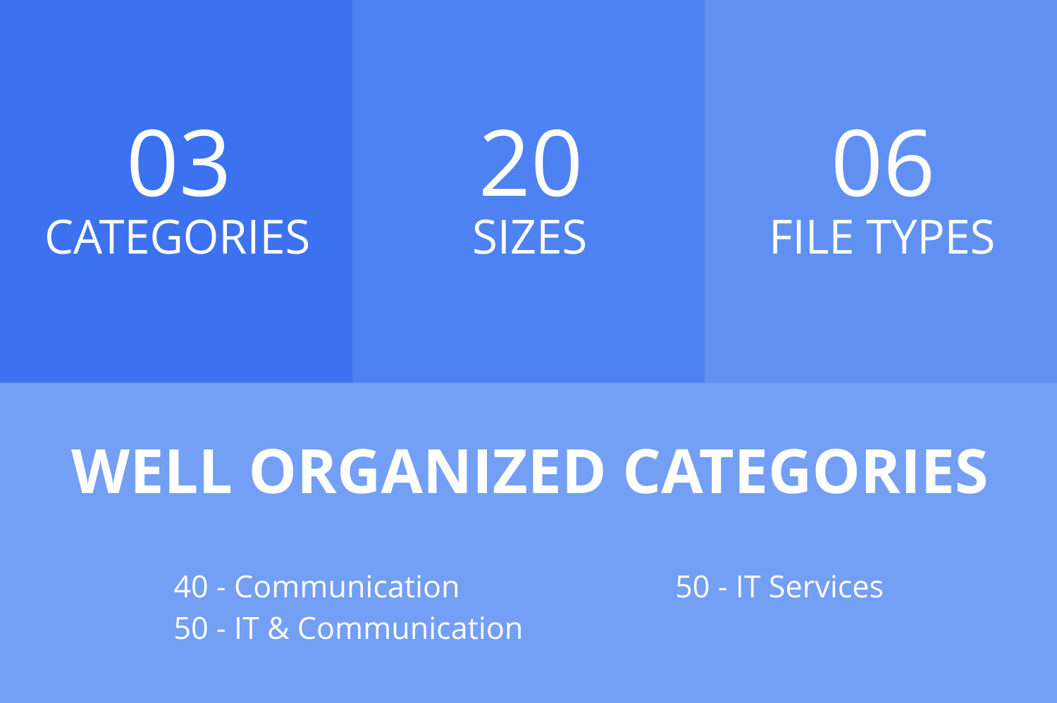 140 IT & Communication Filled Line Icons example image 2