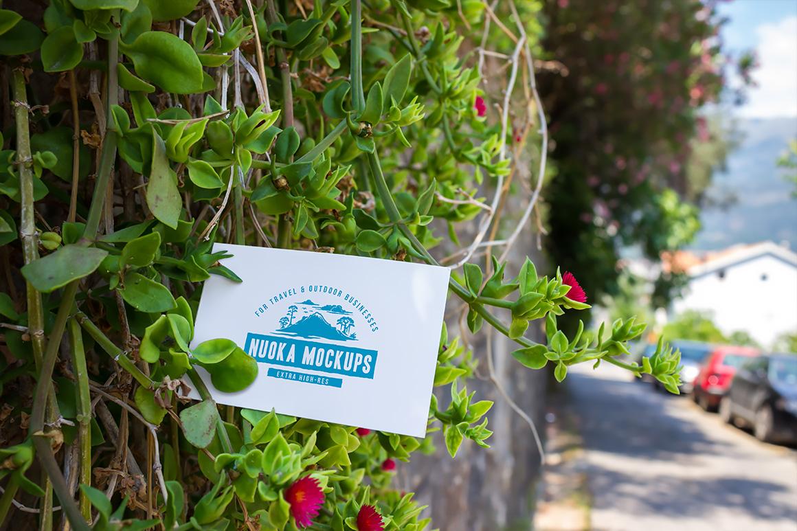 10 Fresh Business Card Mockups vol.1 example image 7