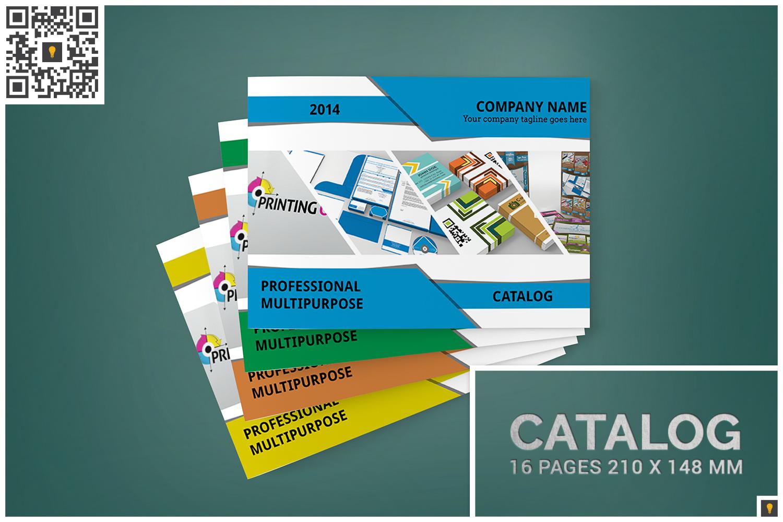 Multipurpose A5 Landscape Catalog example image 1